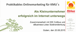 Praktikables Onlinemarketing KMU
