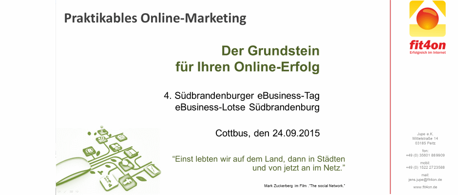 Praktikables Onlinemarketing eBusiness
