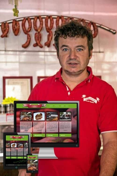 Erfolgreich online sein - Fleischerei Cottbus