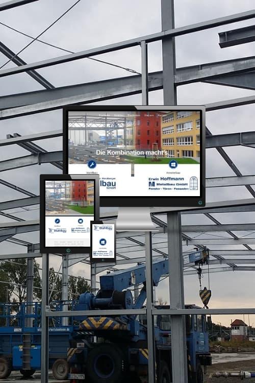 Erfolgreich online sein - Stahlbau Hoffmann