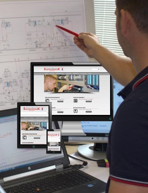 Erfolgreich online sein - Elektrotechnik Müller