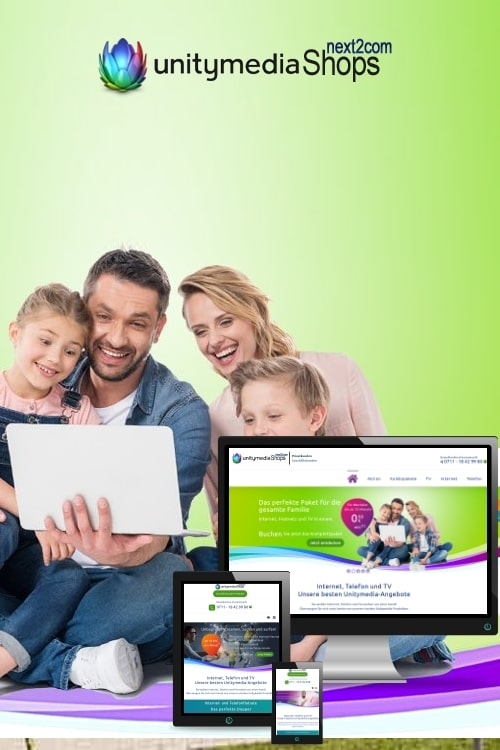 Erfolgreich online sein - Unitymedia
