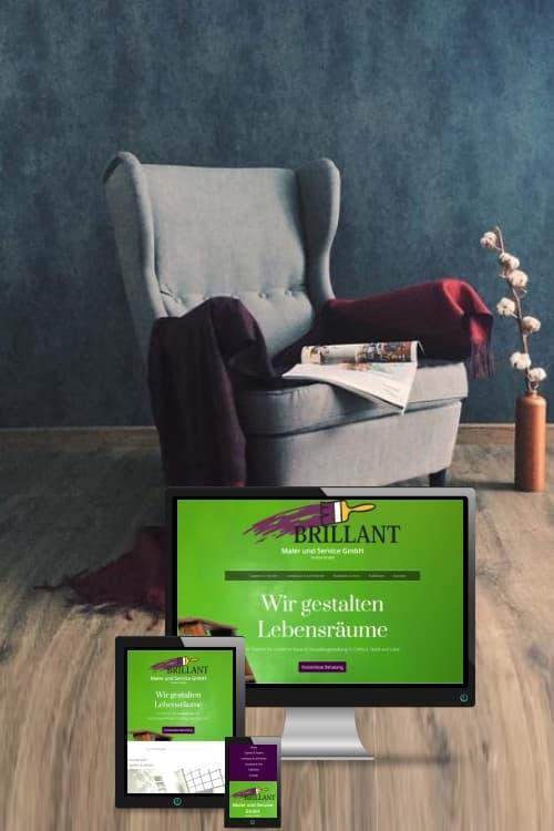 Erfolgreich online sein - Maler und Service GmbH