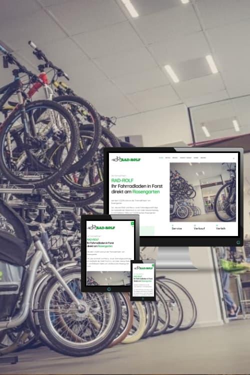Erfolgreich online sein - Rad-Rolf