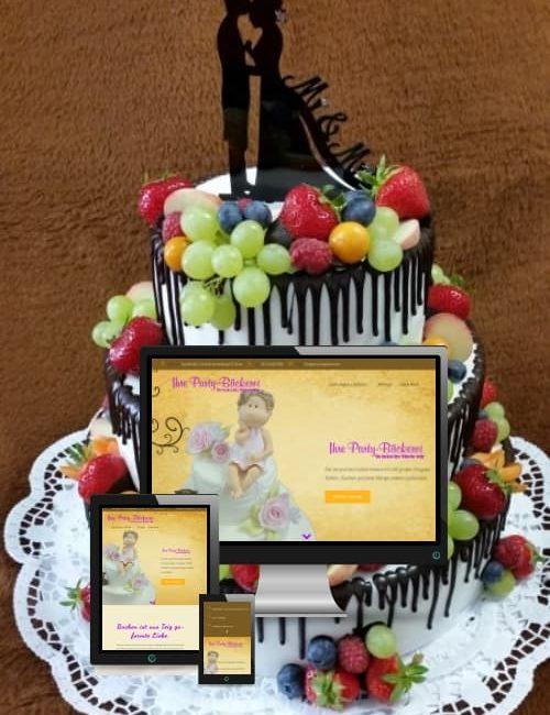 Erfolgreich online sein - Ihre Party-Bäckerei