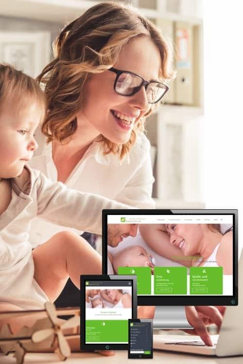 Erfolgreich online sein - Babysicher