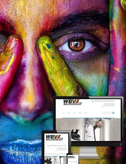 Erfolgreich online sein - WBV Malereinkauf