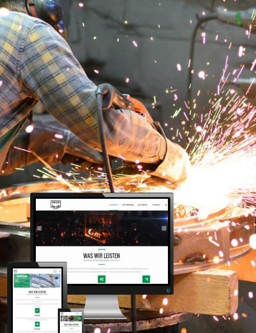Erfolgreich online sein - IWUP Innovativer Metallbau
