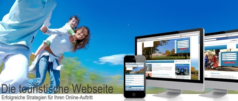 Die touristische Webseite