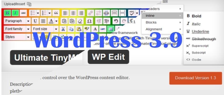 """Das Ende von Ultimate TinyMCE Wie auf der Entwicklerseite zu lesen ist, wird das Plugin Ultimate TinyMCE nicht mehr weiterentwickelt. Ab der WordPress Version 3.9 können Sie dieses Plugin nicht mehr benutzen. Aber wir versuchen eine Alternative zu finden. Josh, der Entwickler von Ultimate TinyMCE arbeitet schon eine weile an einem zweiten Plugin zur Erweiterung des WYSIWYG-Editors für WordPress. Sein neues Projekt ist das Plugin WP Edit. Das funktioniert so ähnlich wie das alte Plugin und hat auch in der kostenlosen Version vergleichbare Fähigkeiten. Bevor Sie das alte Plugin Ultimate TinyMCE einfach so löschen, sollten Sie es über den Button """"Uninstall Plugin"""" deinstallieren und erst danach aus dem Pluginverzeichnis löschen. [caption id=""""attachment_1930"""" align=""""alignnone"""" width=""""914""""] Ultimate TinyMCE deinstallieren[/caption] Das neue Plugin Wp-Edit von Josh Lobe ist schnell gefunden und installiert. Nach der Aktivierung sind nur noch wenige Einstellungen vorzunehmen. Per -Drag and Drop- können Sie Ihre gewünschten Zusatzfunktionen der vorhandenen Menüleise hinzufügen. Überlegen Sie was Sie gebrauchen könnten. Ich habe """"Font Family"""" (Schriftname), """"Font Sizes"""" (Schriftgröße) und """"Formats"""" (Formate) aktiviert. Diese reichen mir in der Regel aus. [caption id=""""attachment_1935"""" align=""""alignnone"""" width=""""999""""] WP-Edit[/caption] Weitere Einstellungen oder Speicherungen sind nicht nötig. Wenn Sie einen Beitrag oder eine Seite bearbeiten wollen, stehen Ihnen die neuen Erweiterungen im Editor schon zur Verfügung. Durch den Button """"Werkzeugleiste umschalten"""" sehen Sie dann auch wieder die bekannten Funktionen des alten Plugins Ultimate TinyMCE. [caption id=""""attachment_1937"""" align=""""alignnone"""" width=""""846""""] WP-Edit Werkzeugleiste[/caption] Ich habe dieses neue Plugin ausprobiert und bin sehr zufrieden. So dass der Schreck mit dem alten Ultimate TinyMCE nur kurz war.  Wie sind Deine Erfahrungen mit dem neuen Plugin? Oder wünscht Du dir das alte Ultimate TinyMCE zurück? Ich freue """