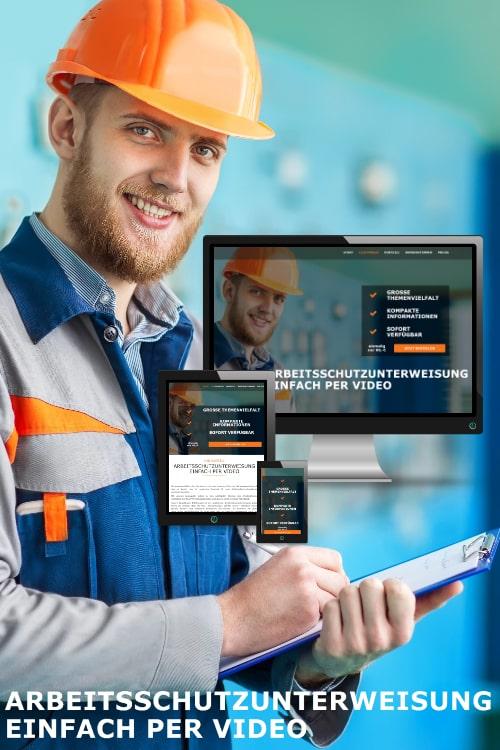 Erfolgreich online sein - Arbeitsschutzunterweisung Einfach per Video