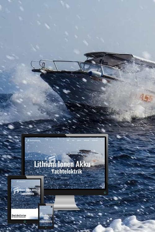 Erfolgreich online sein - Bootsbatterien